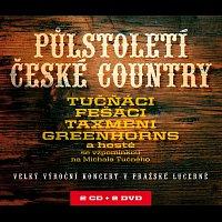 Tučňáci, Fešáci, Taxmeni, Greenhorns – Půlstoletí české country – CD+DVD