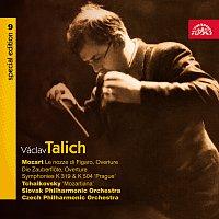 Václav Talich – Talich Special Edition 9. Mozart: Předehry (Figarova svatba, Kouzelná flétna), Symfonie č. 33 a 38 - Čajkovskij: Suita č. 4 – CD