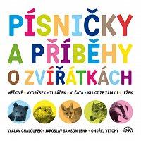 Václav Chaloupek, Ondřej Vetchý, Jaroslav Samson Lenk – Písničky a příběhy o zvířátkách - Komplet 2CD – CD