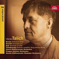 Česká filharmonie, Václav Talich – Talich Special Edition 16. Benda: Sinfonia in B - Dvořák & Suk: Smyčcové serenády - Čajkovskij: Andante cantabile – CD