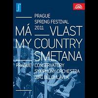 Symfonický orchestr Pražské konzervatoře, Jiří Bělohlávek – Smetana: Má vlast. Zahájení Pražského jara 2011 LIVE – DVD