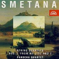 Panochovo kvarteto – Smetana: Smyčcové kvartety č. 1 a 2 – CD