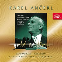 Česká filharmonie, Karel Ančerl – Ančerl Gold Edition 18. Mozart: Koncerty - Voříšek: Symfonie D dur – CD