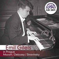 Emil Gilels – Emil Gilels v Praze. Mozart, Debussy, Stravinskij – CD