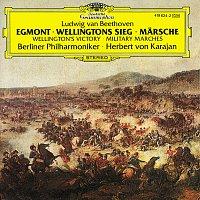 """Gundula Janowitz, Erich Schellow, Berliner Philharmoniker, Herbert von Karajan – Beethoven: """"Egmont""""; Wellington's Victory; Military Marches – CD"""