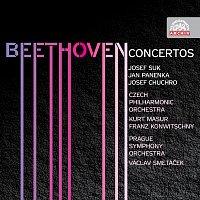 Josef Suk, Jan Panenka, Josef Chuchro – Beethoven: Kompletní koncerty – CD