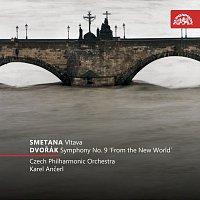 """Česká filharmonie, Karel Ančerl – Smetana: Vltava - Dvořák: Symfonie č. 9 e moll """"Z nového světa"""" – CD"""