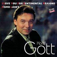 Karel Gott – Komplet 34 / 35 I Love You For Sentimental Reasons / Písmo lásky – CD