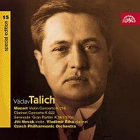 Česká filharmonie, Václav Talich – Talich Special Edition 15. Mozart: Koncerty houslový K 218, klarinetový K 622, Serenáda K 361/370a – CD