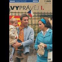 Roman Vojtek, Andrea Kerestešová, Svatopluk Skopal, Veronika Freimanová – Vyprávěj - první řada – CD+DVD