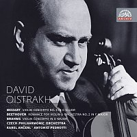 David Oistrach – Mozart, Beethoven & Brahms: Koncerty pro housle a orchestr. Russian Masters – CD