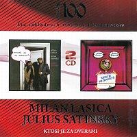 Milan Lasica & Július Satinský – Ktosi je za dverami 1 / Ktosi je za dverami 2 – CD