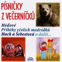 Různí interpreti – Písničky z Večerníčků - Včelí medvídci, Mach a Šebestová, Méďové atd. – CD