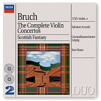 Salvatore Accardo, Gewandhausorchester Leipzig, Kurt Masur – Bruch: The Complete Violin Concertos [2 CDs] – CD