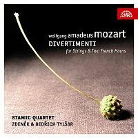 Zdeněk Tylšar, Bedřich Tylšar, Stamicovo kvarteto – Mozart: Divertimenta pro smyčcové kvarteto a dva lesní rohy – CD