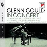 Glenn Gould – Glenn Gould in Concert: Salzburg 1959 (Bach); Moscow 1957 (Bach); Lenningrad 1957 (Bach, Beethoven) – CD