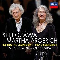 Martha Argerich, Mito Chamber Orchestra, Seiji Ozawa – Beethoven: Symphony No.1 in C; Piano Concerto No.1 in C [Live] – CD