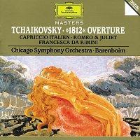 "Chicago Symphony Orchestra, Daniel Barenboim – Tchaikovsky: ""1812"" Overture; Capriccio italien; Romeo & Juliet; Francesca da Rimini – CD"