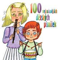 Různí interpreti – 100 nejznámějších dětských písniček – CD