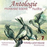 Různí interpreti – Antologie moravské lidové hudby - CD7 Verbuňky a písně rekrutské – CD