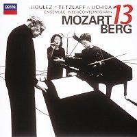 Mitsuko Uchida, Christian Tetzlaff, Ensemble Intercontemporain, Pierre Boulez – Mozart: Gran Partita / Berg: Kammerkonzert – CD