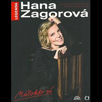 Hana Zagorová – Legenda - Málokdo ví (kniha+DVD+CD) – CD+DVD