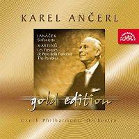 Česká filharmonie, Karel Ančerl – Ančerl Gold Edition 24. Janáček: Sinfonietta - Martinů: Fresky Piera della Francesca, Paraboly – CD