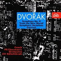 """Česká filharmonie, Jiří Bělohlávek – Dvořák: Symfonie č. 9 """"Z Nového světa"""", Karneval, Symfonické variace – CD"""