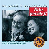 Jan Werich, Jana Werichová – Táto, povídej! Komplet 8CD – CD