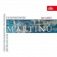 Česká filharmonie, Jiří Bělohlávek – Martinů: Symfonie č. 5 a 6 – CD