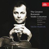 Václav Hudeček – Největší romantické houslové koncerty - Mendelssohn, Brahms, Čajkovskij & Sibelius – CD