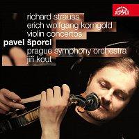 Pavel Šporcl, Symfonický orchestr hl.m. Prahy (FOK), Jiří Kout – Korngold, Strauss: Houslové koncerty – CD