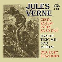 Jules Verne, Různí interpreti – Verne: Cesta kolem světa za 80 dní, Dvacet tisíc mil pod mořem a Dva roky prázdnin – CD