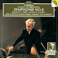 """Berliner Philharmoniker, Herbert von Karajan – Beethoven: Symphony No.8; Overtures: """"Coriolan"""", """"Fidelio"""", """"Leonore No.3"""" – CD"""