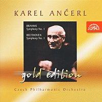 Česká filharmonie, Karel Ančerl – Ančerl Gold Edition 9. Brahms: Symfonie č. 1 c moll - Beethoven :Symfonie č. 1 C dur – CD