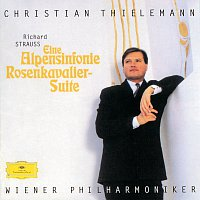 Wiener Philharmoniker, Christian Thielemann – Strauss, R.: Eine Alpensinfonie; Rosenkavalier-Suite – LP