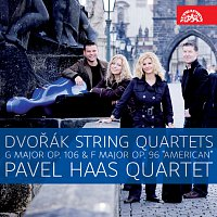"Pavel Haas Quartet – Dvořák: Smyčcové kvartety G dur, op. 106 a F dur, op. 96 ""Americký"" – CD"