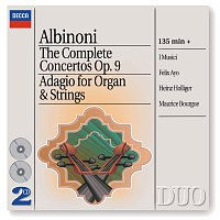 I Musici, Heinz Holliger, Felix Ayo, Maurice Bourgue, Maria Teresa Garatti – Albinoni: The Complete Concertos/Adagio for Organ & Strings [2 CDs] – CD
