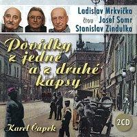 Ladislav Mrkvička, Josef Somr, Stanislav Zindulka – Čapek: Povídky z jedné a z druhé kapsy – CD