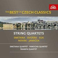 Různí interpreti – The Best of Czech Classics - Smetana, Dvořák, Janáček: Smyčcové kvartety – CD