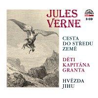 Jules Verne, Různí interpreti – Verne: Cesta do středu Země, Děti kapitána Granta, Hvězda jihu – CD