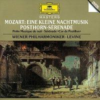 """Walter Singer, Wiener Philharmoniker, James Levine – Mozart: Eine kleine Nachtmusik, K. 525; Symphony No. 32 (Overture), K. 318; Serenade K. 320 """"Posthorn Serenade"""" – CD"""
