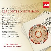 Nicolai Gedda, Victoria de los Angeles, Orchestre de la Société des Concerts du Conservatoire, André Cluytens – Offenbach: Les Contes d'Hoffmann – CD
