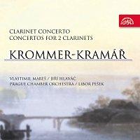 Vlastimil Mareš, Jiří Hlaváč, Pražský komorní orchestr, Libor Pešek – Krommer-Kramář: Koncerty pro klarinet – CD