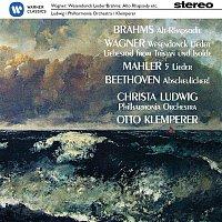 Christa Ludwig – Christa Ludwig sings Brahms, Wagner. Mahler & Beethoven – CD