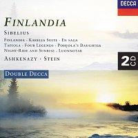Philharmonia Orchestra, Vladimír Ashkenazy, L'Orchestre de la Suisse Romande – Sibelius: Finlandia; Luonnotar; Tapiola etc. [2 CDs] – CD
