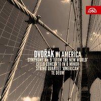 """Různí interpreti – Dvořák v Americe (Symfonie č.9 """"Z Nového světa"""", Violoncellový koncert h moll, Smyčcový kvartet """"Americký"""", Te Deum) – CD"""
