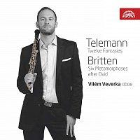 Vilém Veverka – Telemann: Fantasie - Britten: Metamorfózy – CD