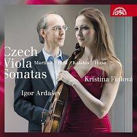 Kristina Fialová, Igor Ardašev – Martinů, Kalabis, Husa, Feld: České violové sonáty – CD
