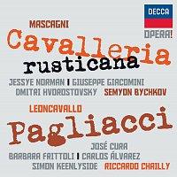Jessye Norman, Giuseppe Giacomini, Dmitri Hvorostovsky, Semyon Bychkov, José Cura – Mascagni: Cavalleria Rusticana / Leoncavallo: Pagliacci – CD